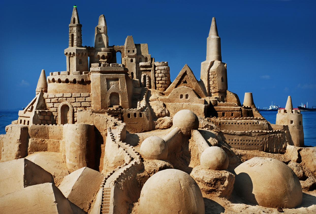 תכנון תבוני של ארמון בחול